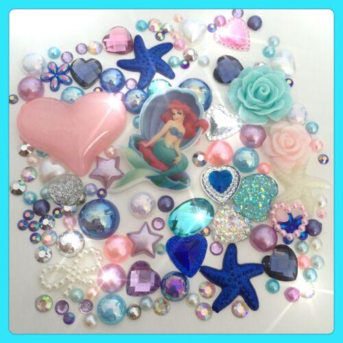 Disney La Sirenita tema cabochon GEM /& Perla Flatbacks Decoden Craft #2