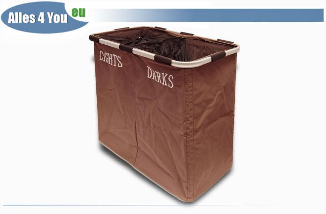 Wäschekorb Reise Wäschesack Wäschetruhe Wäschebox Camping Behälter Rechteck