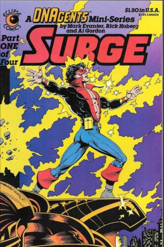 1984 Mark Evanier /& Rick Hoberg DNAgents Surge No.1