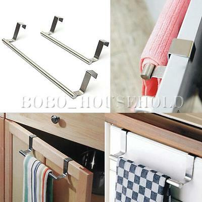 Cabinet Hanger Over Door Kitchen Towel Holder Drawer Hook Storage Bathroom Scarf