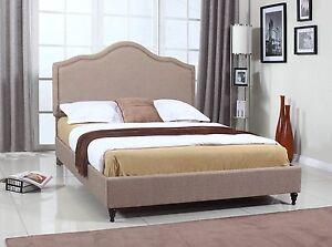 Container Upholstered Platform Bed