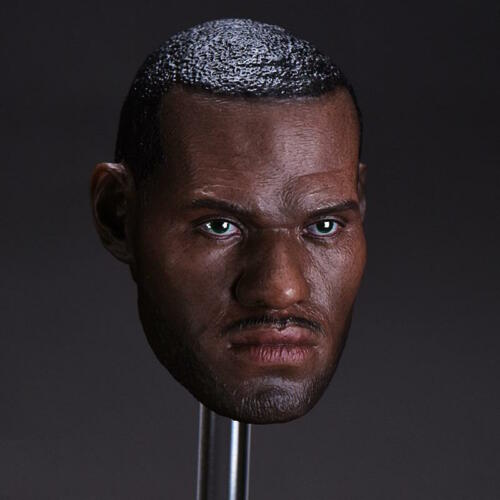 1//6 LeBron James Head Sculpt 3.0 NBA For Enterbay Hot Toys Coo Male Figure USA