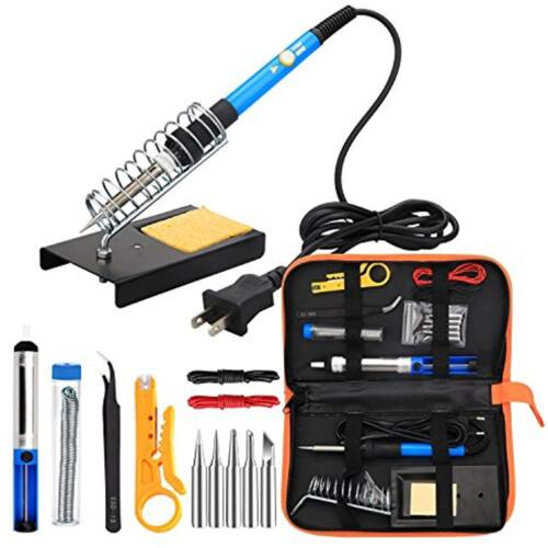60W Tool, ANBES Soldering Welding Equipment /& Accessories Iron Kit Electronics