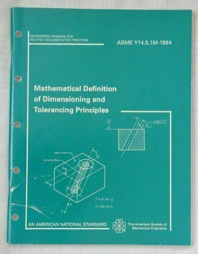 MATHEMATICAL DEFINITION OF DIMENSIONING AND TOLERANCING