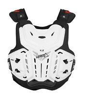 Leatt 4.5 Mx Dirt Bike Motocross Adult Chest Protector White All Sizes
