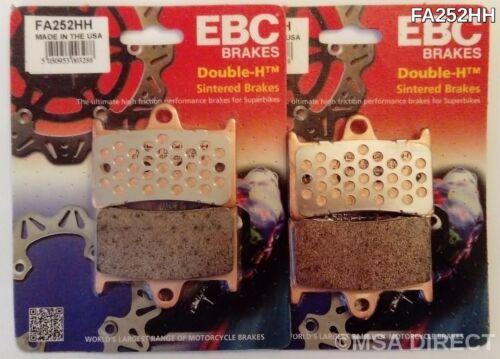 FA252HH 2002 to 2014 EBC Sintered FRONT Disc Brake Pads 2 Sets Yamaha TDM900