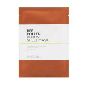 MISSHA-BEE-POLLEN-Renew-Sheet-Mask-1pc-Vitality-Smooth-Soft-Skin-UK