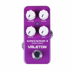 Valeton-Wave-Shaker-Vintage-Tremolo-Guitar-Effect-Pedal-CTR-1