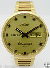 MIDO OCEAN STAR DATODAY DOUBLÉ HERREN AUTOMATIK CHRONOMETER - Ref. 9369 - 90er