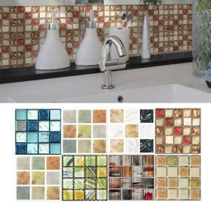 20Pcs-Self-Adhesive-Tile-Floor-Wall-Decal-Sticker-DIY-Kitchen-Bathroom-Decor-NEW
