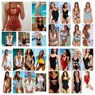 Women Sexy One-Piece Bandage Monokini Push Up Bikini Swimsuit Bathing Swimwear