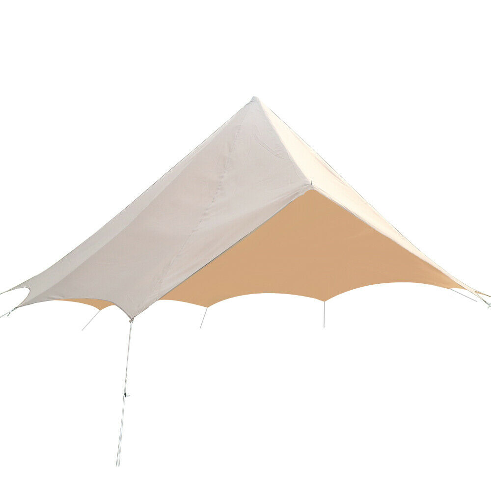 3M  4M 5M 6M Bell Tent Predector Rain Fly Roof Tarp Waterproof Oxford Shelter US  hottest new styles