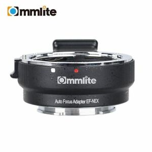 Commlite AF Auto Focus Mount Adapter for Canon EOS EF EF-S Lens to Sony NEX E Mount Camera