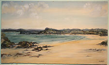Large Original Oil Painting Art COASTAL SCENE IRELAND by Irish Artist EI BRYCE