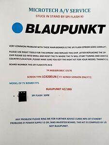 Details about BLAUPUNKT 42/188J LC420EUN TP MSD309 B81C 12176 EPROM REPAIR  KIT READ ADVERT