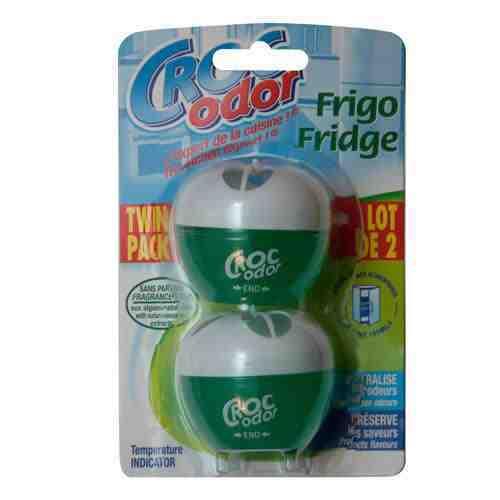 Croc odor twin pack réfrigérateur sent deodoriser neutralisateur freshener 8300500101