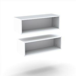 Nexera Decorative Wall Rectangles 2 pcs 223503 Floating Shelves NEW