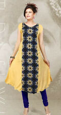 INDIAN DESIGNER HEAVY RAYON KURTI L SIZE
