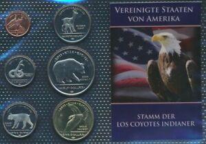 U-S-2011-UNC-coin-set-2011-1-cent-until-1-US-dollars-Los-Coyotes-9030652