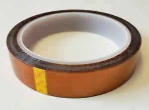 Kapton Tape Heat Resistant Insulating 48mm x 33m 100ft Polymide US Seller 18650