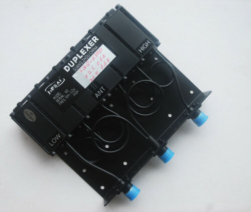 Duplexer 220-270Mhz UHF 6 Cavity SQ 50W  N Connector  1.6Mhz Frequency Space