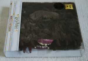 Harry Potter Oficial Luxury Furry Fluffy MONSTER Notebook, 3D Eyes & Jaw