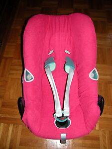 Sommerbezug Schonbezug Frottee f/ür Maxi-cosi Tobi Frottee 100/% Baumwolle pink