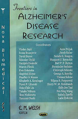 Frontiers in Alzheimer's Disease Research, , New Book
