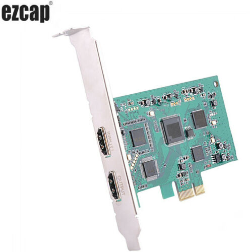 YK 940 UHD Capture Box 4K HDMI Recording PC Computer TV Video Games Q8T3Z