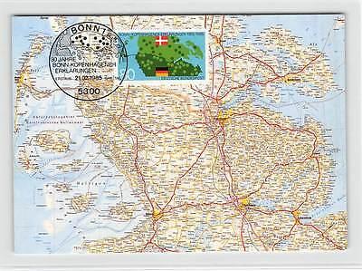 Post & Kommunikation Brd Mk 1985 Bonn-kopenhagener ErklÄrungen Carte Maximum Card Mc Cm D9656 QualitäT Und QuantitäT Gesichert Diverse Philatelie