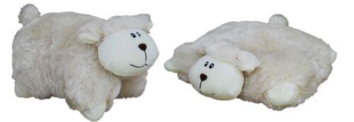 """LAMB  CUSHION/"""" ANIMAL TOY 10inch//25cm BNWT ELKA AUSTRALIA 2 IN 1 /""""SHEEP"""
