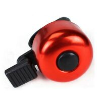 Outdoor Metal & Plastic Ring Handlebar Bicycle Bell Sound for Bike Cycling Alarm
