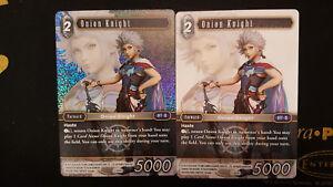 Final-Fantasy-TCG-Opus-I-1-Hero-Onion-Knight-Alternate-Art-Playset-Promo-Mint