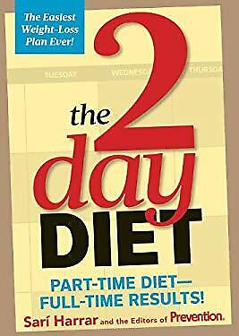 2-Day Diet : Part-Time Diet-- Full-Time Results! by Harrar, Sari-ExLibrary