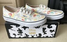 bc0642b027ed Disney Vans The Little Mermaid Ariel Pattern Canvas Trainers Size 2 New