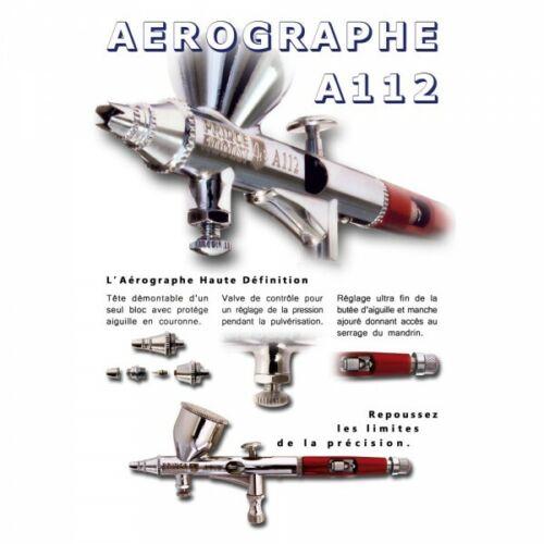 PRINCE AUGUST AEROGRAPHE A112 GARANTIE 3 ANS