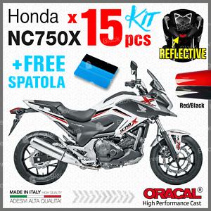 15-kit-ADESIVI-Rosso-Nero-compatibile-con-Honda-NC-750-X-2011-2015-NC750-moto