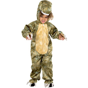 Kids 3-5 Natural History Museum T-Rex Fancy Dress Costume Official Licensed