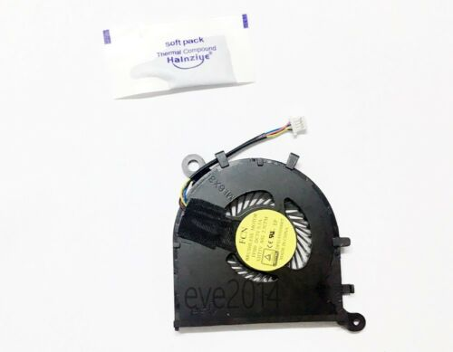 New For Dell XPS 13-9350 13-9360 XHT5V 0XHT5V Cpu Fan with Silicone grease