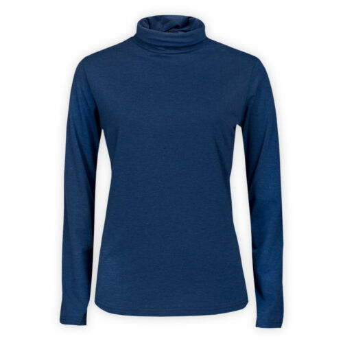Womens Ladies Turtle High Roll Neck Cotton Top Stretch Casual T-Shirt Jumper