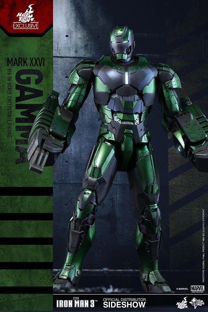 =MIB = heta leksaker 1  6 Iron Man Mark XXVI (26) Gamma MMS332 2015 leksak Fair Exklusiv