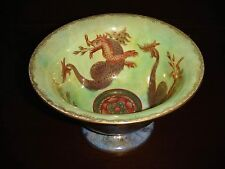 Antique Wedgwood Lustre Celestial Dragon Compote Bowl