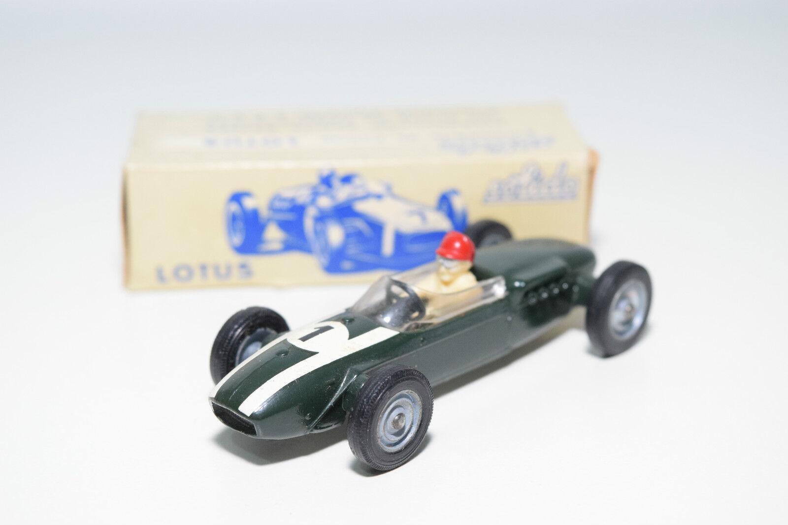 Solido 116 lotus formule 1 formel - 1 - f1 - rennwagen grüner minze umzingelt