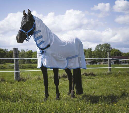 Ekkia Riding World Fly Rug Horse Turnout Rug Full Neck Mesh Sheet Summer