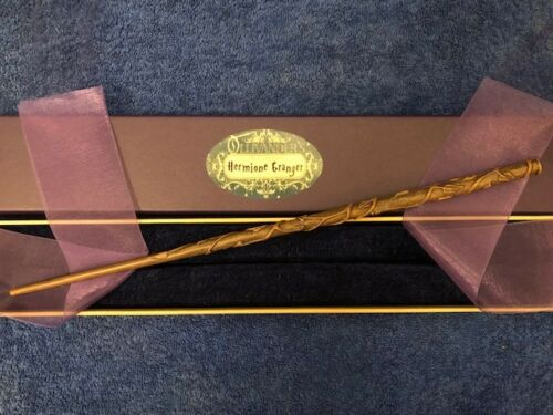 "Authentic Noble Collection Wizarding World Hermione Granger Wand 15/"" Hogwarts"