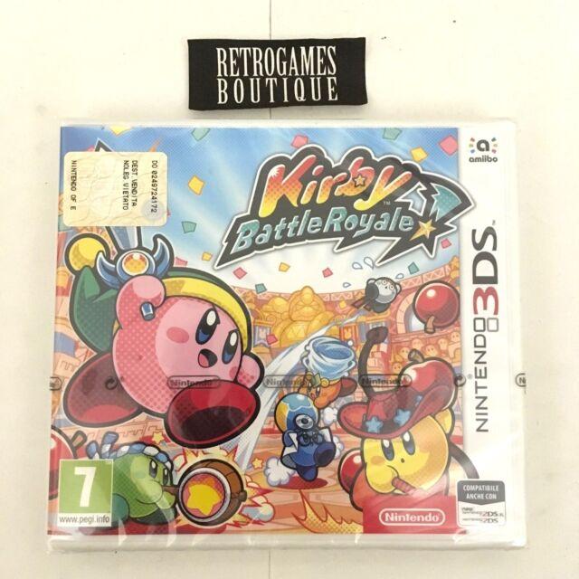 KIRBY BATTLE ROYALE Nintendo 3DS Italiano NUOVO
