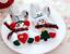 8pcs-Set-Natale-Babbo-Natale-Pupazzo-di-neve-ARGENTERIA-Titolare-tasca-Vacanza-Festa-Decor miniatura 9