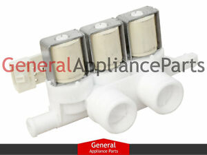 GE General Electric Washer Water Triple Inlet Valve WH13X10025 ... on