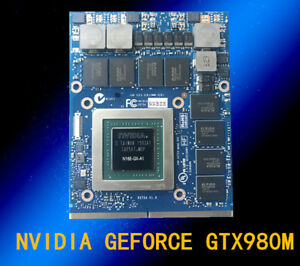 Details about DELL Alienware Nvidia GeForce GTX 980M N16E-GX-A1 8GB GDDR5  VGA Video Card