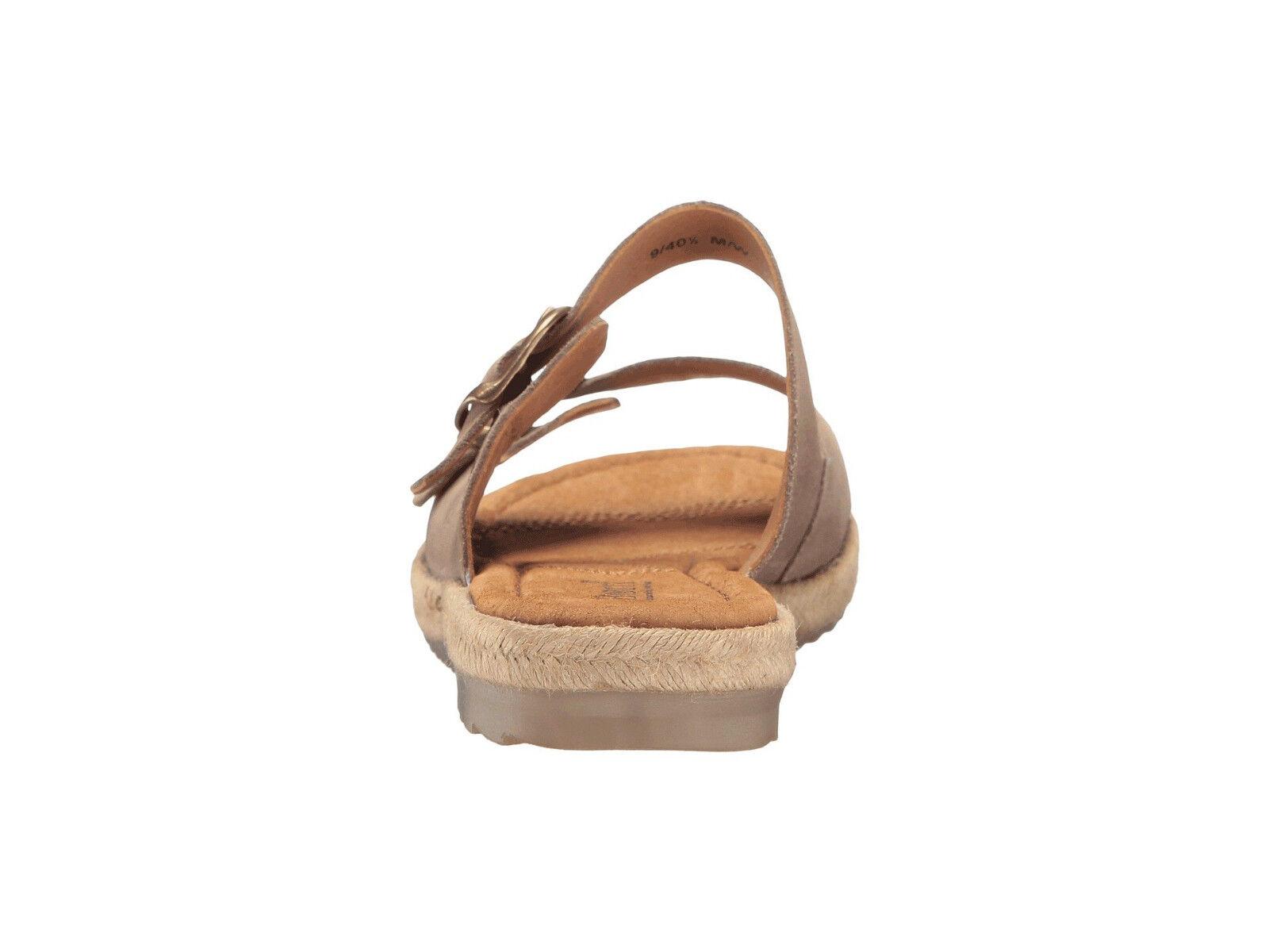 Born donna Votua Open Toe Leather Fashion Casual Dress Buckle Buckle Buckle Slides Sandals bd2f17